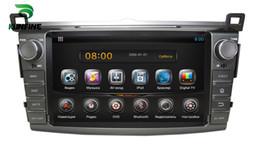 2019 rav4 bluetooth Auto DVD GPS Navigation Player für Toyota RAV4 2013 Radio Bluetooth 3G Wifi Lenkradsteuerung Quad Core 1024 * 600 Bildschirm Android 5.1 günstig rav4 bluetooth