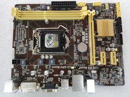 Wholesale B85 Motherboard - B85M-K Desktop Motherboard For ASUS LGA 1150 SOCKET 1150 INTEL B85 Motherboard with 2ps SATA cables,IO Backplate,Thermal Grease
