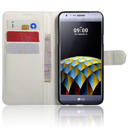 Wholesale Ray Leather Case - PU Leather Case for LG Aka F60 Ray X190 X Cam X Screen Optimus Zone 3 Cover Phone Case Coque Flip Cover
