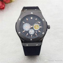 Wholesale Retro Calendars - 2017 New men's fashion Leatherwear watchband quartz Watches Stainless Steel Dial Fashion Retro Men Watches wholesale Free Shipping