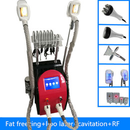Wholesale Lasers Can Burn - fat slimming two fat freezing handles can work at the same time cellulite removal fat burning lipo laser body slimming machine