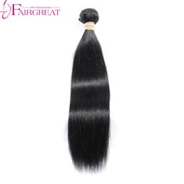 Wholesale Tangle Free Weave - Unprocessed Human Malaysian Hair Bundles Straight Hair Wave Hair Extensions 1pc Lot No Shedding Tangle Free Natural Color Hair