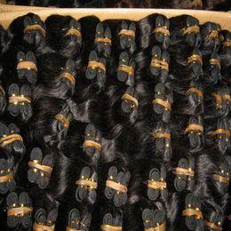 Cheapeast Индийский волос тела ткать мягкие человеческие волосы 8 дюймов цвет#1b и #2,20 шт. / лот Экспресс доставка от
