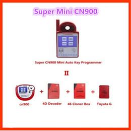 Wholesale 4c Key - Smart CN900 Mini Auto Transponder Key Programmer Mini CN900 RFID Programmer for Toyota 4d 67 4C 4D Chips Update Online DHL Free