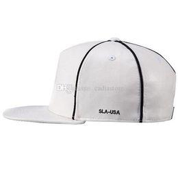 Wholesale Leather Hat Buckles - Faux Leather Buckle Snapback Baseball Cap Flat Brim Hip Hop Hat Adjustable C00284 BARD