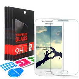 Wholesale Galaxy S Lte - 2.5D 9H Tempered screen protector For Samsung Galaxy Trend3 G350 Alpha G850F Star Pro S7262 Ace4 G313 S Duos 2 S7582 Ace Style LTE G357FZ