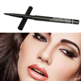 Wholesale retractable dryer - Free shipping !!New EYELINER Automatic EYE-LINER Rotary Retractable Black Eyeliner Pen Pencil Eye Liner