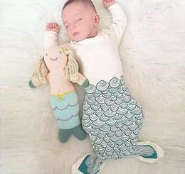 Wholesale Boys Animal Bedding - 3 Colour!Kids Boys Girls Mermaid Tail Wrap Soft Fleece Blanket Sleepers Bed snuggle - in Sleeping Bag Cute Cocoon Costume Sleepwear