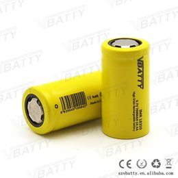 Wholesale Cheap Rechargeable E Cig - Vbatty IMR 18350 LI-MN 700mah 3.7v 10.5a high drain battery for Mechanical Mods Itaste Vamo Electronic Cigarette e cig kits cheap