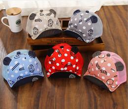 Wholesale Custom Made Hats - 2017 New arrival children palm cap men and women baby cartoon cap baby sun hat custom made