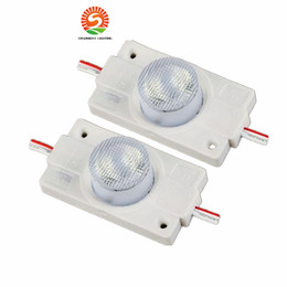 Wholesale Led Signage Modules - 1.5W High Power Led Module Side Lighting 5730 Led Injection Modules with Lens Light Waterproof for Signage Advertising