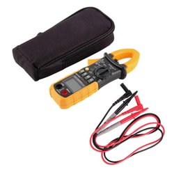 Wholesale Earth Resistance Clamp - Wholesale-1pc Hot Digital AC DC Clamp Meter Ground Unit Megohmmeter Resistance Earth Tester Multimeter HYELEC Multimetro 4000 Counts