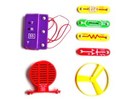 Wholesale Educational Electronic Toys For Children - concrete blocks snap circuit electronic disc, Children Electronic Building Blocks Educational Appliance, Assembling Toys for Kids, Best Gif