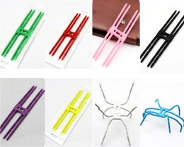 Wholesale Hot Pink Hangers - Universal phone Spider Holder for Creative New Hot Selling changeable spider Stand Lazy metal bracket For Car Phone camera Hanger hook Grip