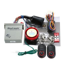 Wholesale engine starts - Original Steelmate 986E 1 Way Motorcycle Alarm Moto Remote Engine Start Alarm Moto Protection with Mini Transmitter for BULTACO