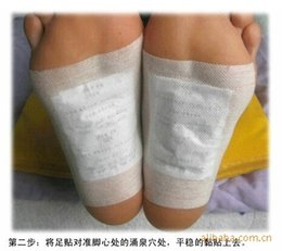 Wholesale Slimming Bamboo High Quality - Detox Foot Patch High Quality bamboo juice detoxification medicament Improve sleep Slimming beauty to raise colour Thin body feet stick
