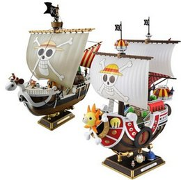 Wholesale One Piece Sunny Action Figure - NEW hot 28cm One piece Going Merry THOUSAND SUNNY action figure toys collection Christmas gift doll