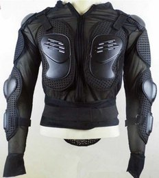 Wholesale Armor Motorcycle Clothing - Top quality motocross jacket coat motorcycle body armor protector CE APPROVED motorbike ATV raptor clothes suit back protector