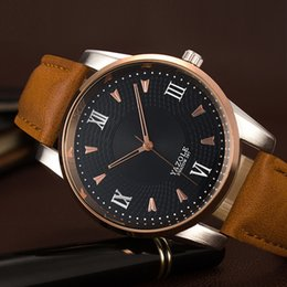 Wholesale Men S Business Watch - Men's quartz watch quartz wristwatch gold watch business watch men, between gold case, three-dimensional obscure, hollow pointer, business s