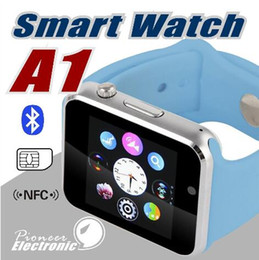 Wholesale Dial Silicone Watches - A1 Smart Watch Bluetooth DZ09 U8 GT08 Smartwatch Apple iWatch Support SIM TF Card Smart Wrist Watches With Silicone Strap Smartphone