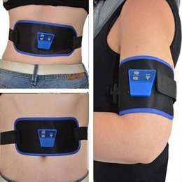 Wholesale Arm Muscles Belt - Women Fitness Abdominal Training Gymnic Belly Front Muscle Boost Abdominal Thighs Arm Leg AB Toning Belt Strap Slim Fitness Device