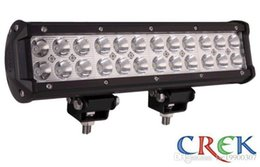 Wholesale Cree 12 Inch 72w - 12 Inch 72W Cree LED Light Bar with Flood Spot Beam for 4WD 4x4 Offroad Jeep Truck Car Mining Boat LED Work Light