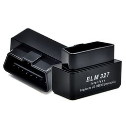 Wholesale Wholesale Cable Tools - Mini ELM327 OBD2 Bluetooth OBDII Supports Android Auto Scan Tool Work with all OBD2 compliant vehicles