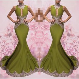 Wholesale Green Lime Evening Dress - lime green prom dresses 2017 Evening Dresses