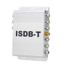 Wholesale Top Fta Receivers - isdb t set top box car high speed ISDB-T tv box FTA HD digital set tv receiver PVR for Brazil,philipines