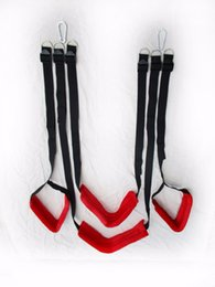Wholesale Chair Free Sex - Free shipping nylon sponge red sex swing chair, rocking sex bondage restriction adult game sex toys sex furniture couples BSW0524