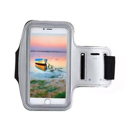 Wholesale Green Treadmill - S5Q Outdoor Sports Jogging Gym Arm Band Treadmill Mobile Phone Sets For iPhone 6 AAAGFL