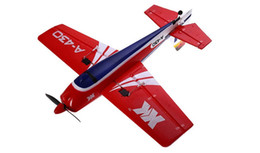 Wholesale Airplane Systems - Wholesale- XK A430 2.4G 5CH 3D6G System Brushless RC Airplane Compatible Futaba RTF