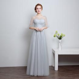 Wholesale Xangai história longa homecoming dress cocktail dress elegante strapless vestidos de dama de honra de prata elegante a line party dress estilo