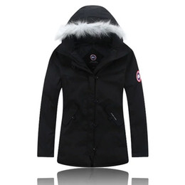 Wholesale Winter Warm Child S Coat - 2018 High Quality CANADA New Winter child Down puffer jacket Casual Brand Hoodies Down Parkas Warm Ski child Coats c23