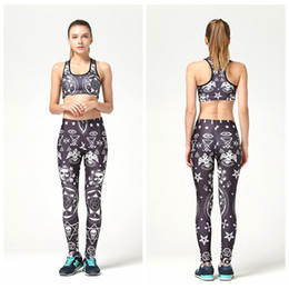 Wholesale Ladies Ivory Suits - Fitness Yoga Suit Ladies Fashion Sportwear Quick Dry Slim Fitness Set High Waist Bodybuilding Exercise Breathable Jogging Tracksuit LNSTZ