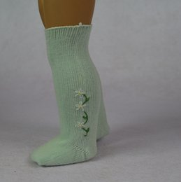 Wholesale American Color Socks - 18 inch Kinds of Colors Cotton Material American Girl Doll Socks of American Girl Doll Middle Length Socks