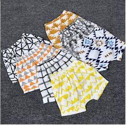 Wholesale Newborn Chinese Clothing - Cute Baby PP Hot Short Pants Newborn Baby Girls Summer Infant Clothing Cartoon Toddler Baby Boys Shorts Clothing Lemon Print