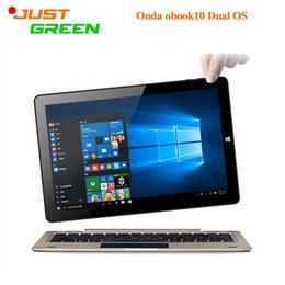 "Wholesale Onda Capacitive Touch Screen - Onda Obook10 Tablet PC 10.1"" 1280x800 Dual Boot Windows10&Android 5.1 Intel Z8300 Quad Core 4GB RAM 64GB ROM notebook Front Camera HDMI"