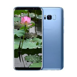 Wholesale Cheap Dual Core Phones - 6.2Inch Goophone S8+ S8 Plus smartphone MTK6580 Quad Core 1G 8G Curve Screen Show 4G 128G cheap Phone