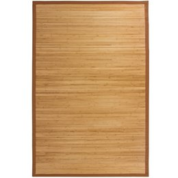 Wholesale Modern Area - Bamboo Area Rug Carpet Indoor Outdoor 5' X 8' 100% Natural Bamboo Wood New