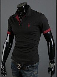 Wholesale Men Slim Fit Tee Cheap - Super cheap! High Quality! !!New 2015 fashion short sleeve Summer top tees polo men polo shirt fitness slim fit cotton casual men polo !.