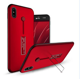 Wholesale Nice Red Rose - Nice Hybrid Ring Holder Metal Stand Armor Case Kickstand Finger Ring Cover For iPhone X 8 7 6 6s Plus Samsung Galaxy Note 8 S8 S8 s7 edge