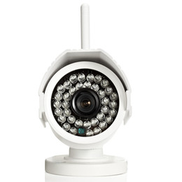 Wholesale Outdoor Cctv Camera Iphone - Outdoor WIFI SD card Bullet IP Camera 1MP 720p HD Wireless Motion Survelliance CCTV Cam IR Infrared P2P Onvif iPhone Android