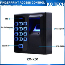 Wholesale Security Scanners - Wholesale-Digital Electric RFID Reader Finger Scanner Code System Biometric Fingerprint Access Control for Door Lock Home Security System