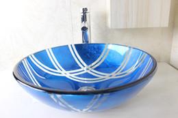 Wholesale Wash Basin Bathroom Glass Sinks - Tempered glass Sink basin Basin sink Bathroom basin Wash basin Wash basin Fruit basin Counter basin Straight bar set N-771