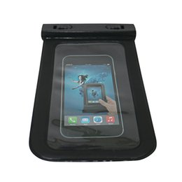 Wholesale Iphone Water Strip - Waterproof pouch Phone Bags 30M Underwater Dry Case Cover With Strip For iphone 6 6S 7 Plus Samsung galaxy s8 s7 edge