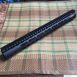 Wholesale Handguard Float - Bokey Sports 15 inch Ultra Light Free Float KeyMod Handguard steel barrel nut