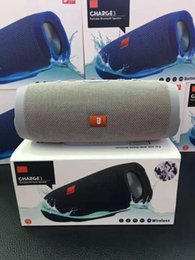 Wholesale Wholesale China Speaker - Charge3 Portable Wireless Speakers Hot Sell Subwoofers Bluetooth Super Deep Bass Large Sound HIFI Stereo Loudly Speaker upgrade Charge2+