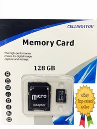Wholesale Sd Card Blister Packaging - 2017 Hot Sale!! 128GB 200GB SDXC 64GB 32GB Micro SD TF With Adapter Blister Generic Retail Package