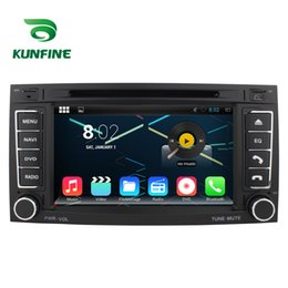 "Wholesale Vw Car Gps - 7""Quad Core 1024*600 Android 5.1.1 Car DVD GPS Navigation Player Car Stereo for VW Touareg 2004-2011 Radio Wifi Bluetooth KF-V2213Q"